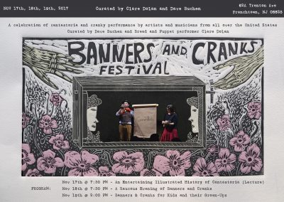 Banners and Cranks Festival (Nov 17th, 18th, 19th, 2017)