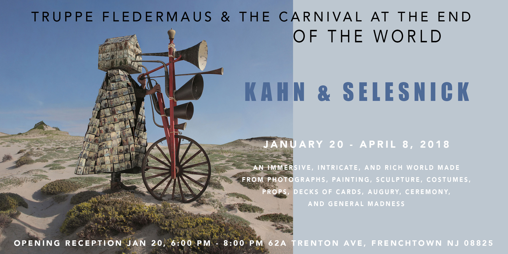 Opening of Exhibition by Kahn & Selesnick @ ArtYard | Frenchtown | New Jersey | United States