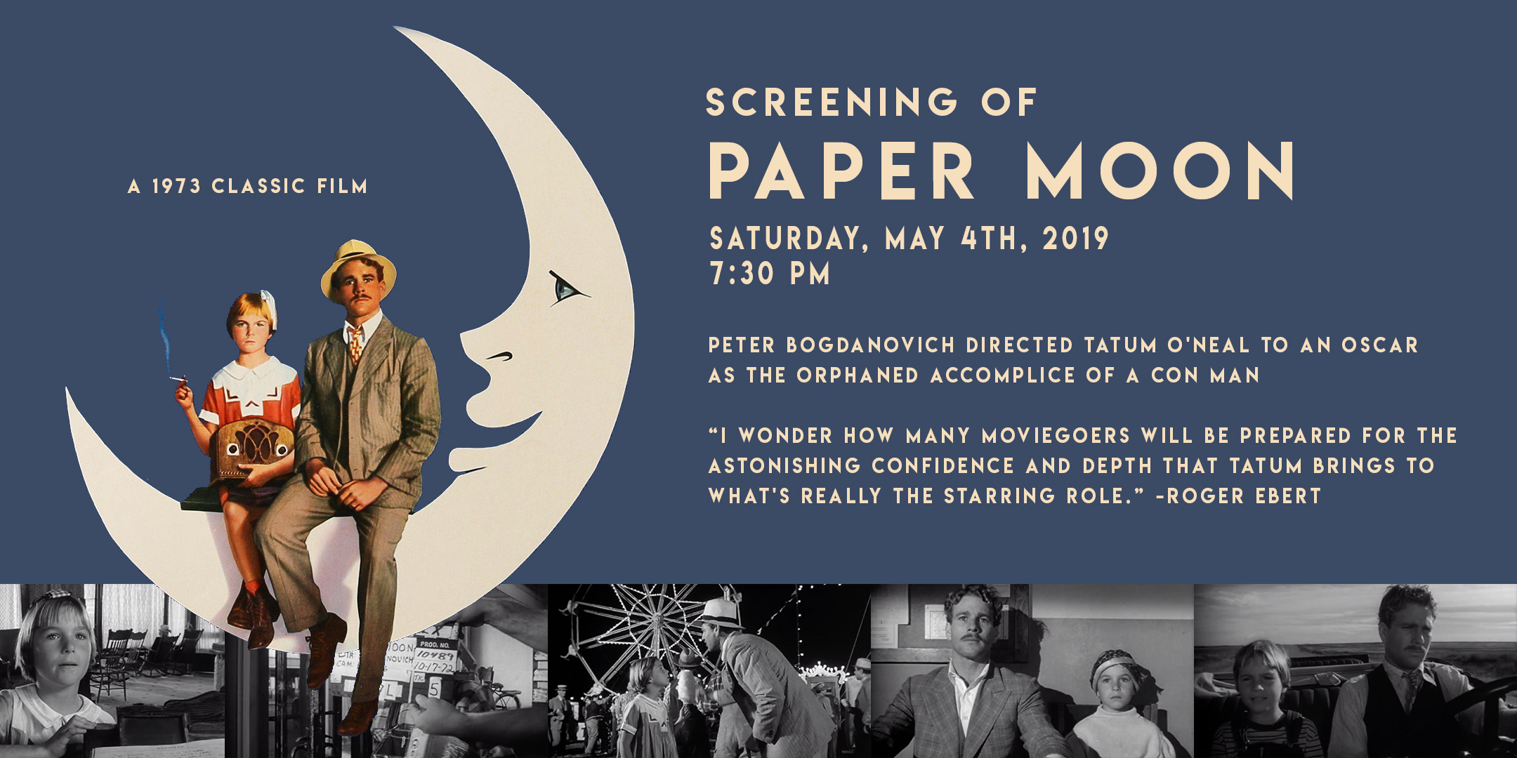 Paper Moon Screening @ ArtYard's Theater | Frenchtown | New Jersey | United States