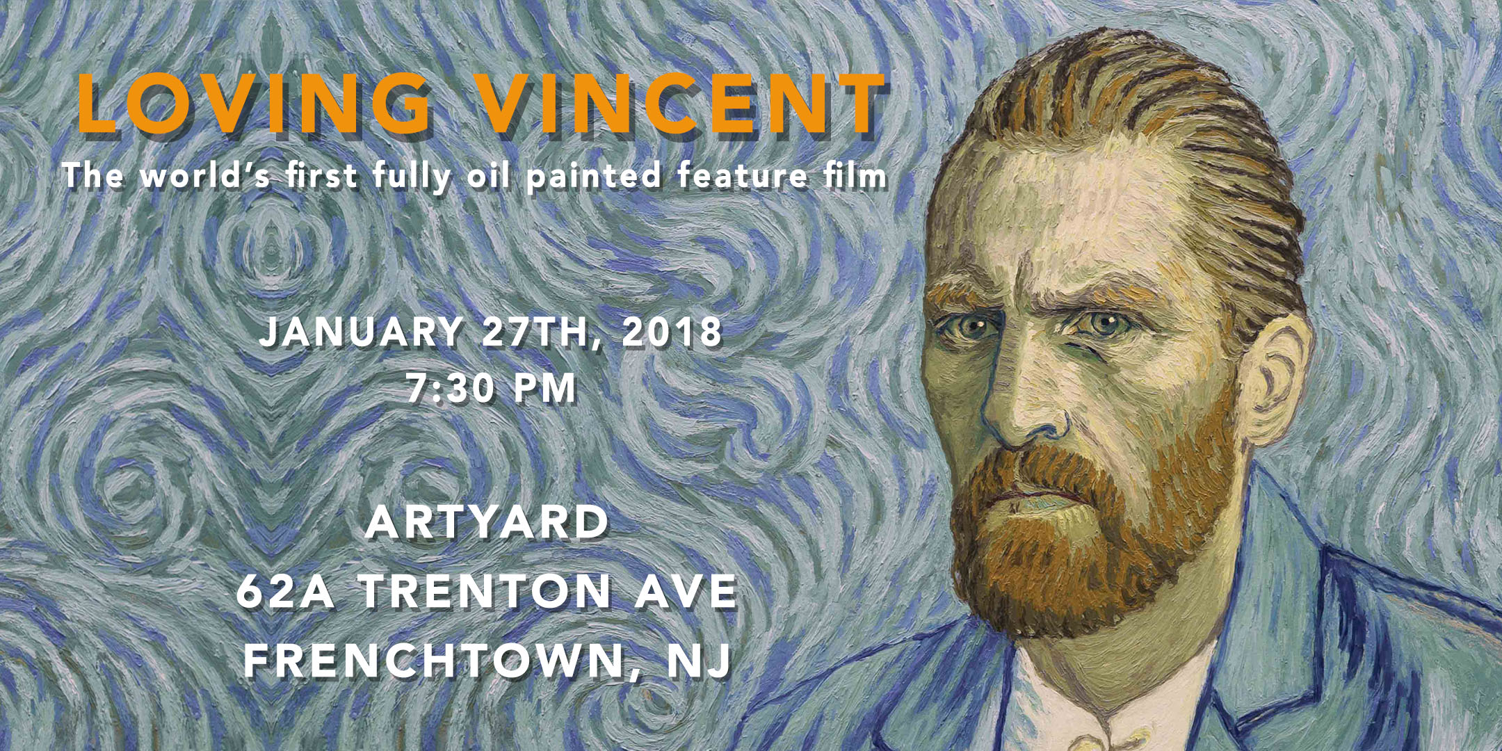 Screening of Loving Vincent @ ArtYard's Theater | Frenchtown | New Jersey | United States