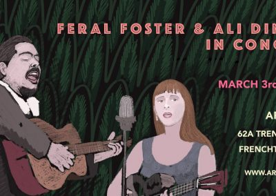 Feral Foster and Ali Dineen (March 3rd, 2018)