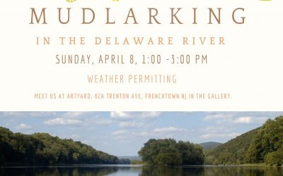 Mudlarking in the Delaware River!