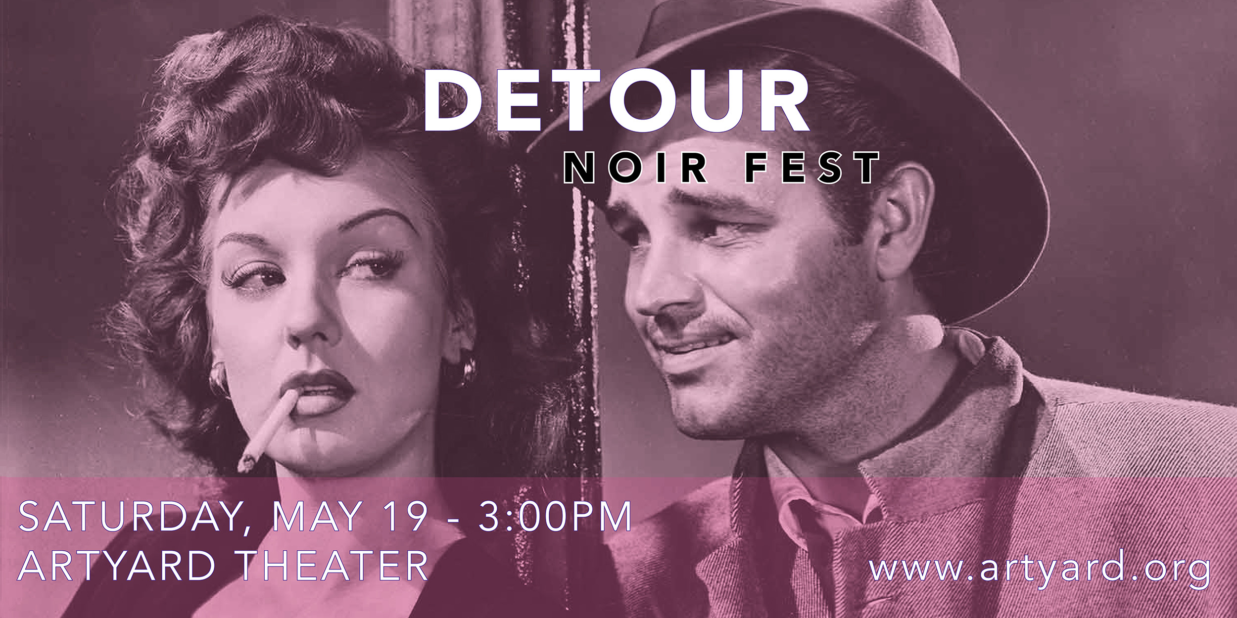Screening of DETOUR (ArtYard's Noir Fest) @ ArtYard's Theater | Frenchtown | New Jersey | United States