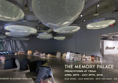 The Memory Palace (April 28 – July 29, 2018)