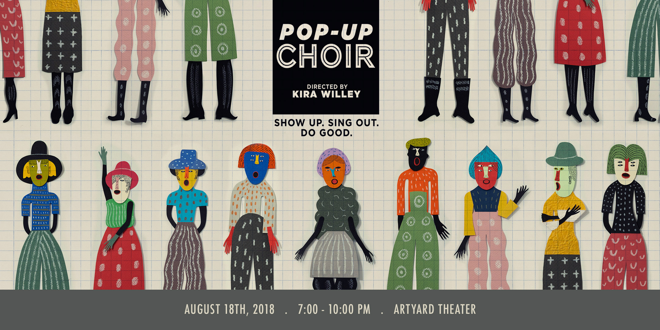 ArtYard Presents POP-UP CHOIR @ ArtYard's Theater | Frenchtown | New Jersey | United States