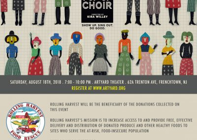 Pop-Up Choir (August 18, 2018)
