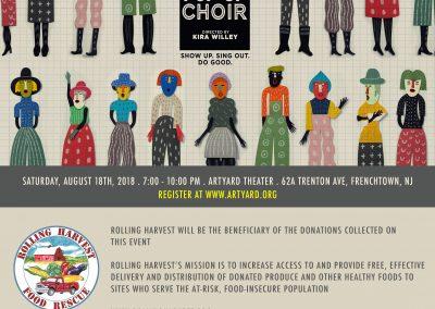Pop-Up Choir (August 18, 2018)
