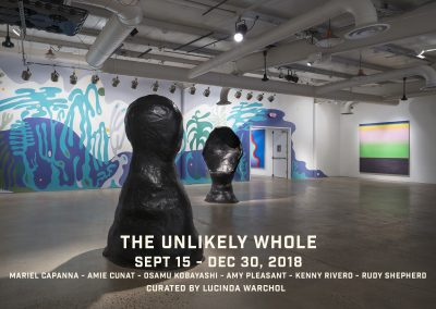 The Unlikely Whole (Sept 15 – Dec 30, 2018)