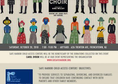 Pop-Up Choir (Oct 20, 2018)