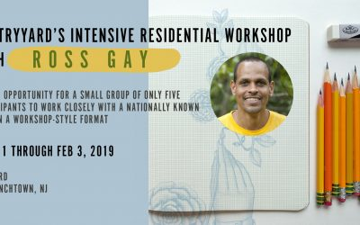 Intensive Residential Poetry Workshop with Ross Gay