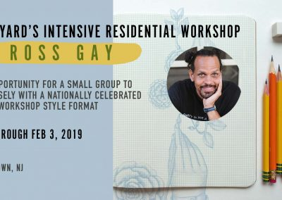 Intensive Poetry Workshop with ROSS GAY (Jan 1- Feb 3, 2019)