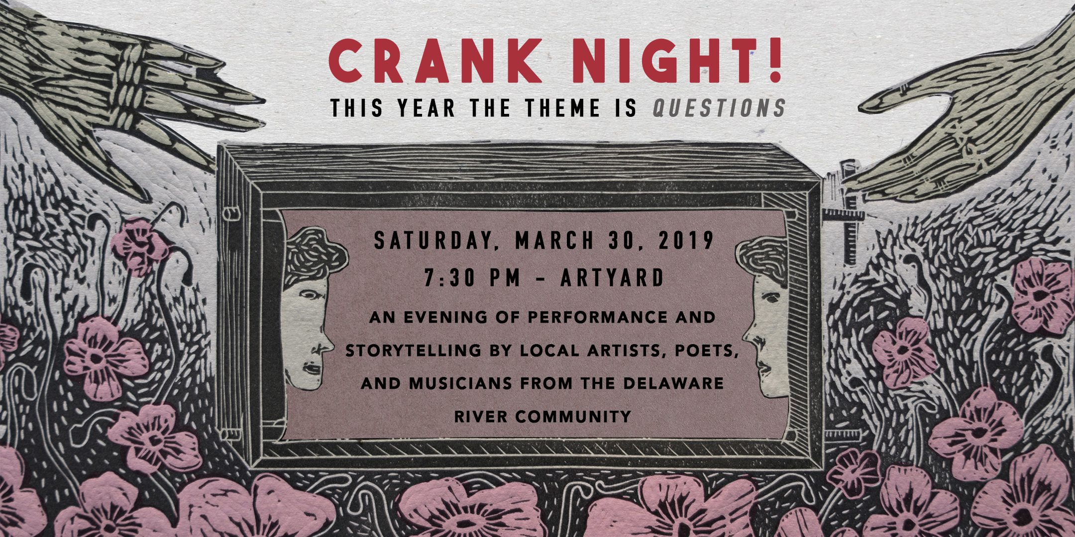 Crank Night! @ ArtYard's Theater | Frenchtown | New Jersey | United States