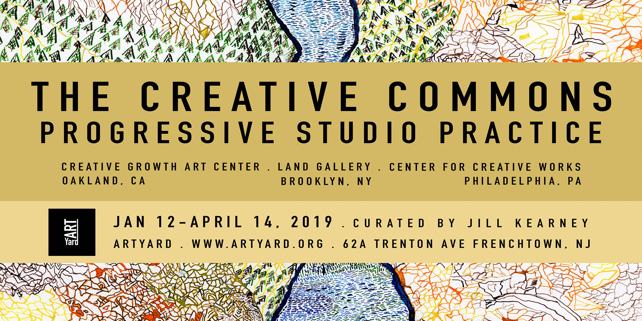 Opening of The Creative Commons @ The Project Gallery (ArtYard) | Frenchtown | New Jersey | United States