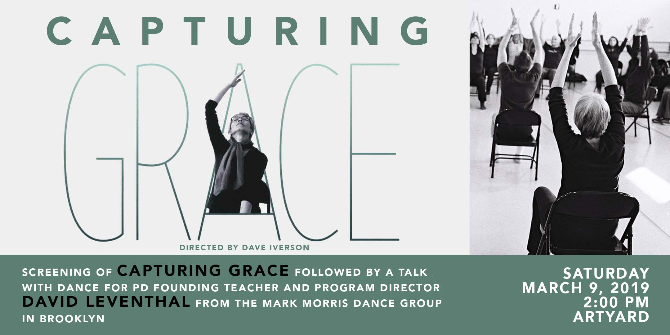 Screening of Capturing Grace and talk with David Leventhal @ ArtYard's Theater | Frenchtown | New Jersey | United States