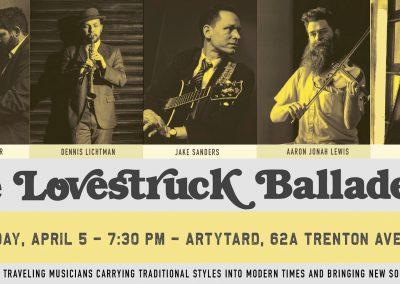 The Lovestruck Balladeers Concert (April 5, 2019)