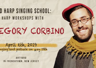 Sacred Harp Singing and Potluck with Gregory Corbino (April 6, 2019)