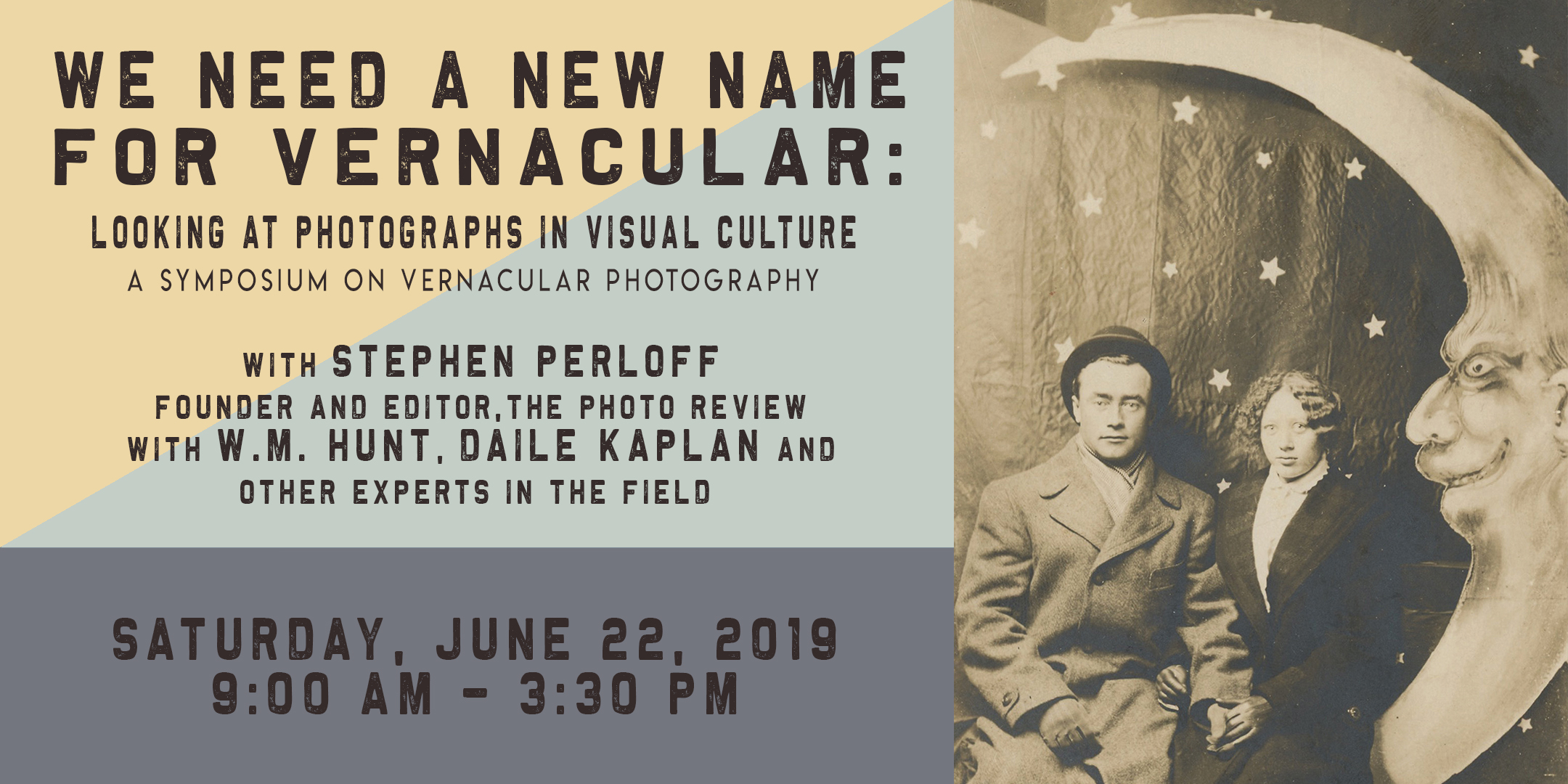 Vernacular Photography Symposium @ ArtYard's Theater | Frenchtown | New Jersey | United States