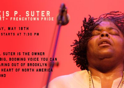 Alexis P. Suter Concert (May 18th, 2019)