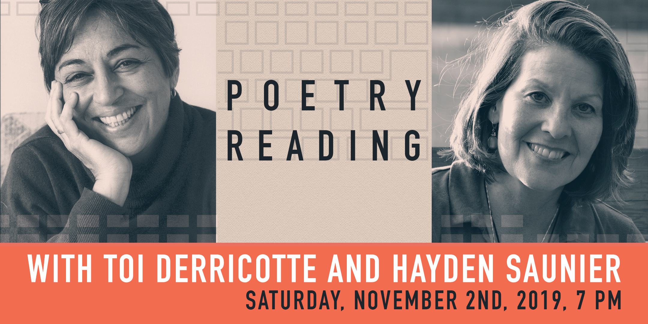 Poetry Reading with Toi Derricotte and Hayden Saunier. @ ArtYard's Theater | Frenchtown | New Jersey | United States