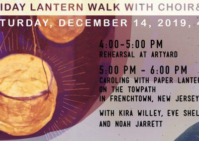 Holiday Lantern Walk with Holiday Lantern Walk with Choir&Co. (Dec 14, 2019)