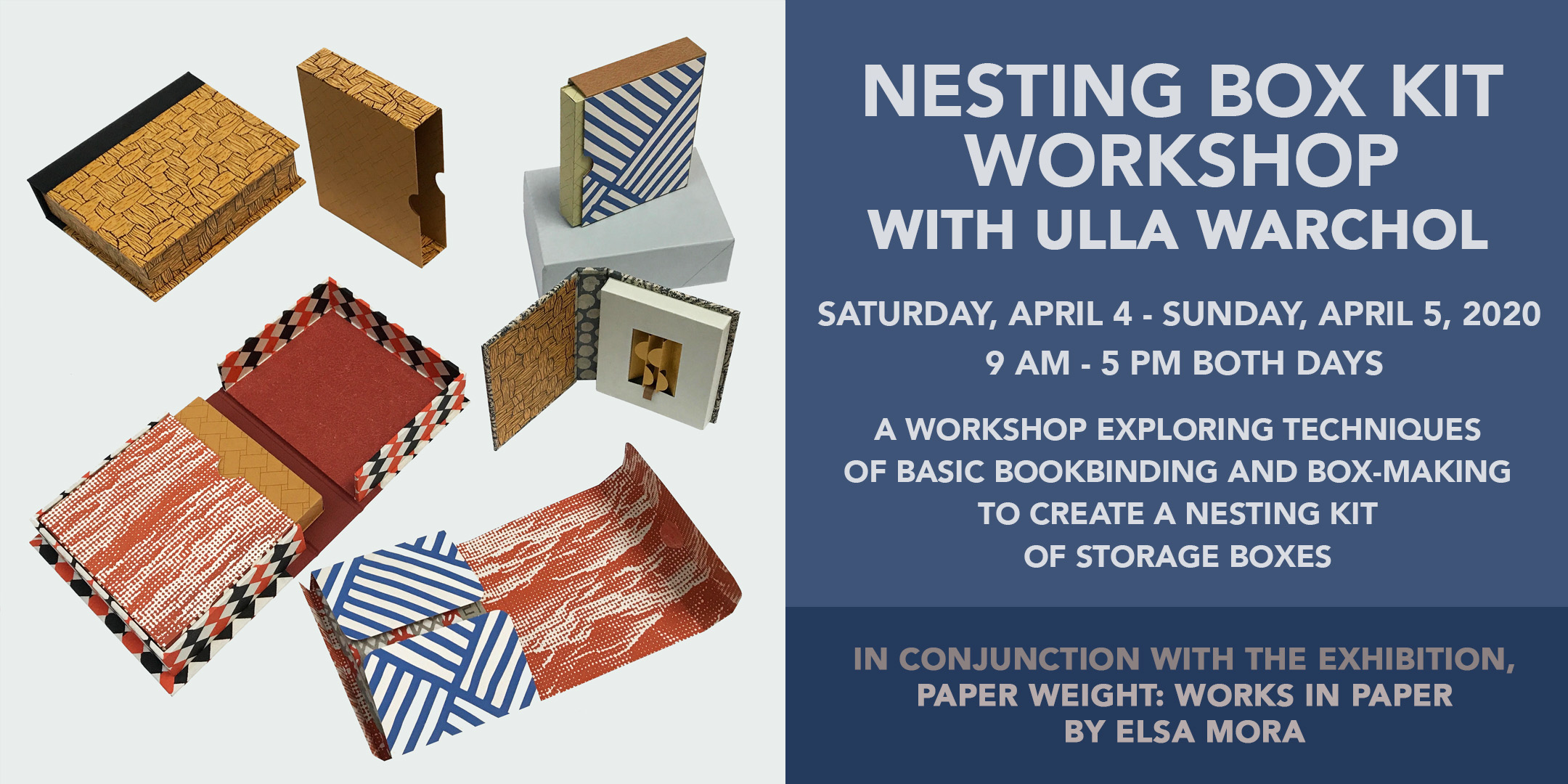 Nesting Box Kit Workshop with Ulla Warchol @ ArtYard | Frenchtown | New Jersey | United States