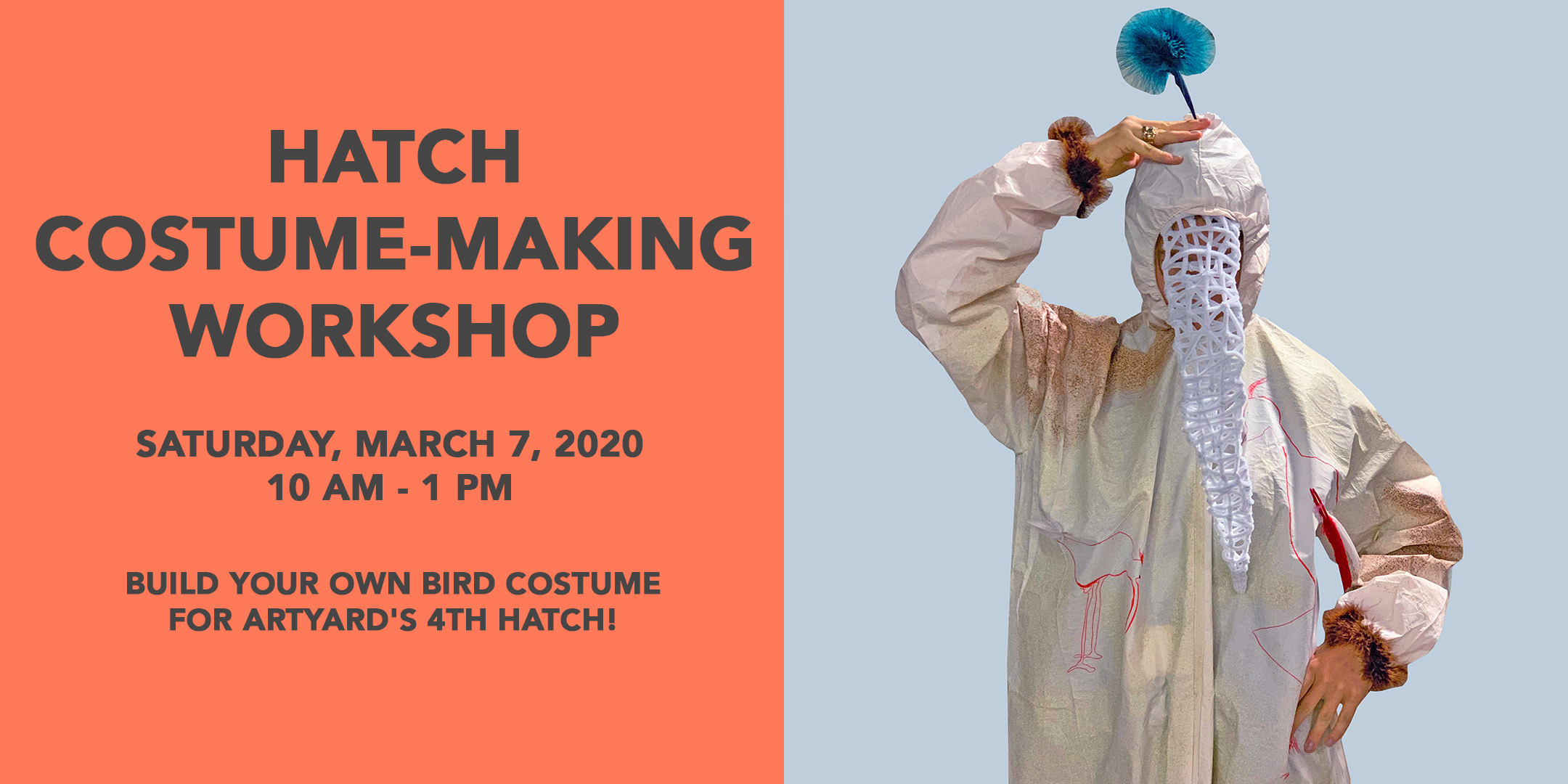 Hatch Costume-Making Workshop @ ArtYard | Frenchtown | New Jersey | United States