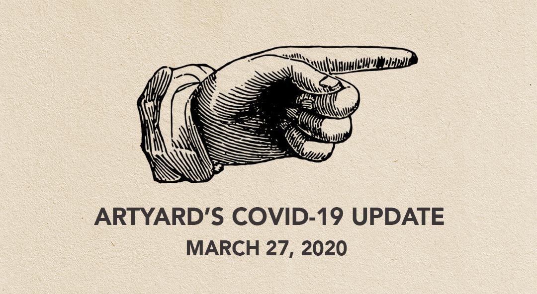 ArtYard's Update COVID-19