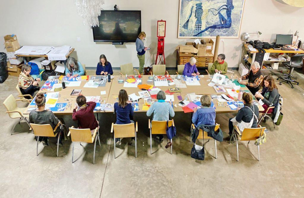 Paper Sculpture Workshop with Elsa Mora
